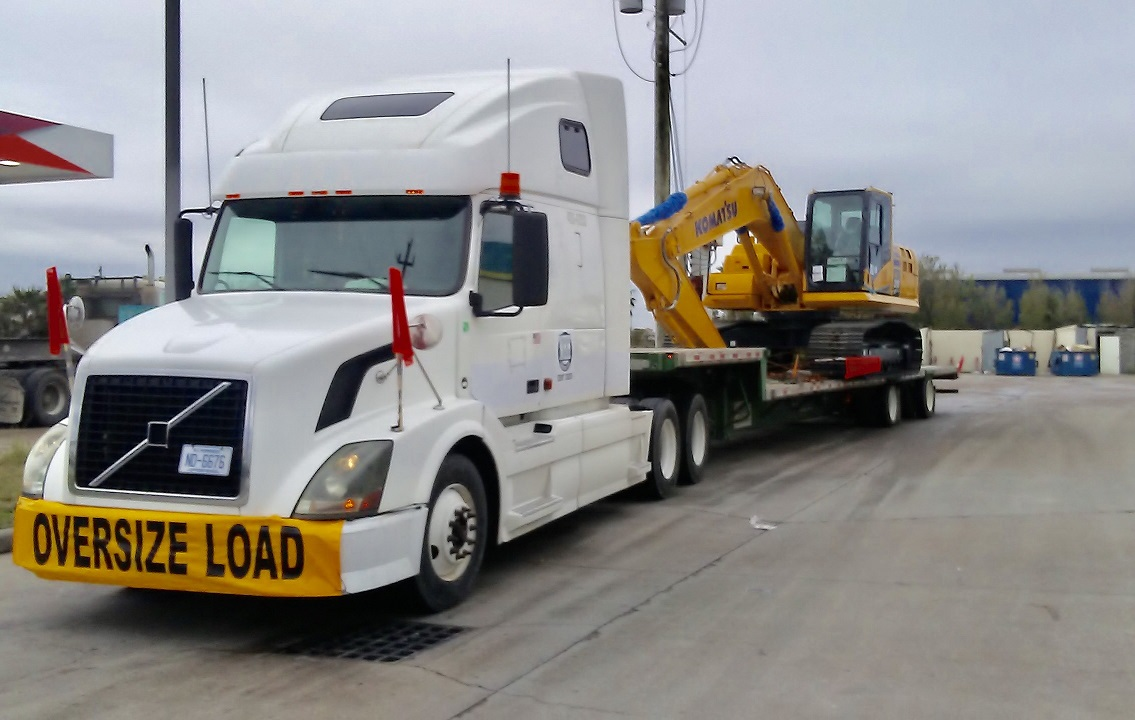 Volvo Truck with Equipment on back